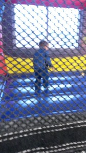 Sport in the bouncy house