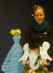 Dr. Seuss at the Library