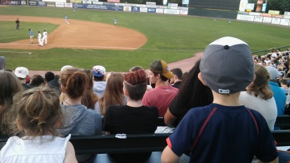 First Baseball Game (Minor League Team).