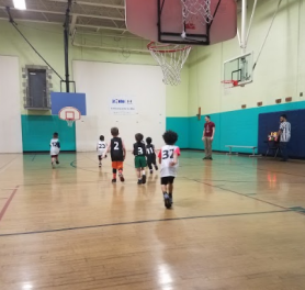 Sport's first basketball game!