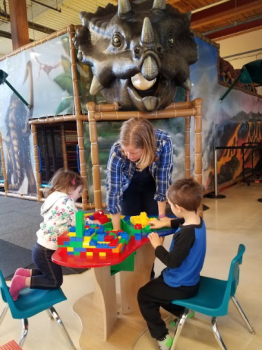 One of many trips to our favorite indoor play place.